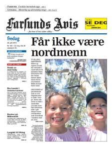 Farsunds Avis front